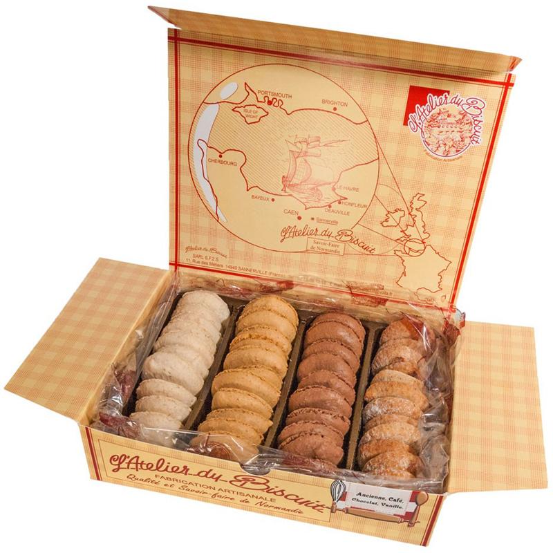 Boîte d'assortiment de Macarons Traditionnels