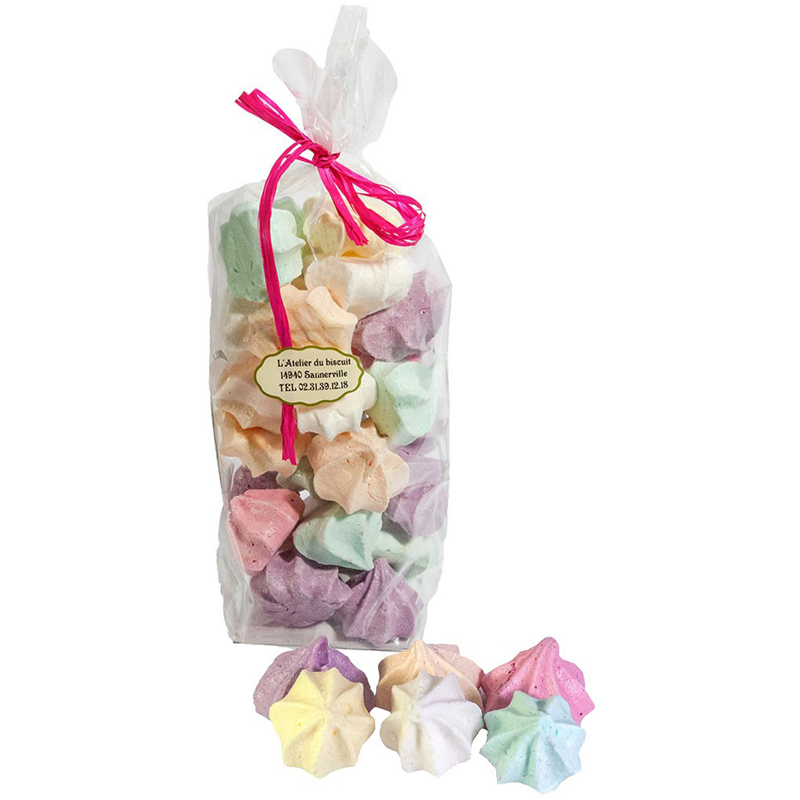 Sachet d'assortiment de Meringues