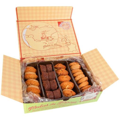 Boîte d'assortiment de biscuits moelleux Tendresse