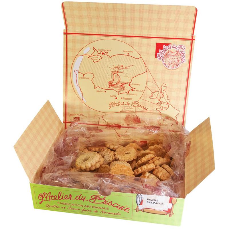 Boîte de Biscuits Sablés Trou Normand