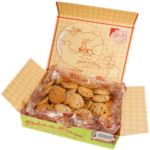 Boîte de Croquants au Chocolat