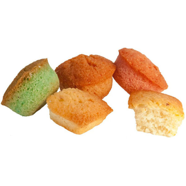 Biscuits moelleux Financiers Arlequin