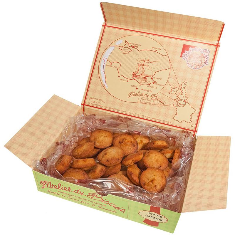 Boîte de biscuits moelleux Financiers Tatins