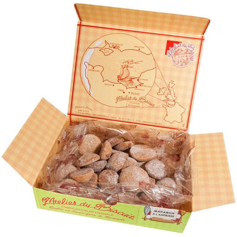 Boîte de Macarons à l'Ancienne