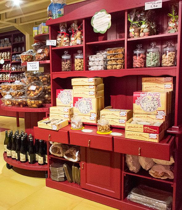 Photo de présentation de biscuits à l'atelier du biscuit