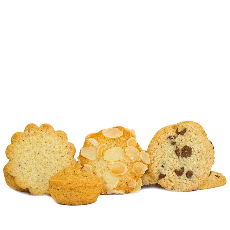 Photo d'assortiment de biscuits secs